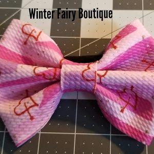 Other - Bullet fabric hair bow on nylon headband